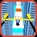 Slide Roof Rails Run 3D icon