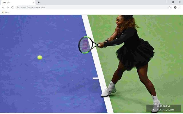 Venus Williams New Tab