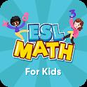 ESL Math Learner: Math Games for Children icon