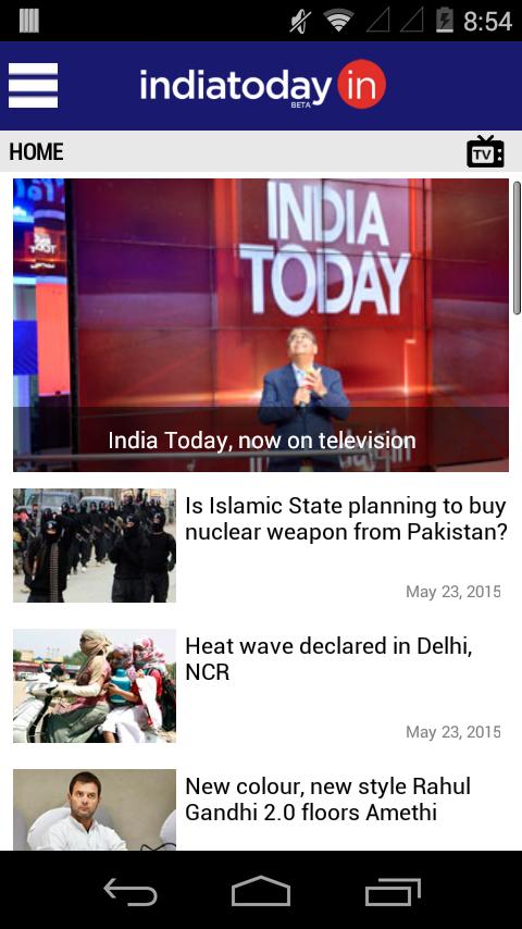 India Today News App - screenshot