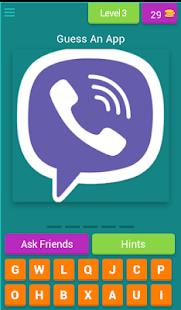 App Quiz - náhled