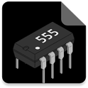 555 Calculator : monostable , astable , pwm, ppm icon
