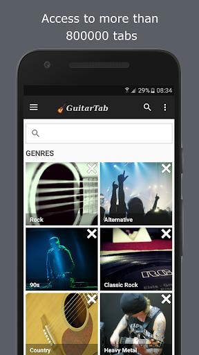 GuitarTab - Tabs and chords 3.4.6 screenshots 1