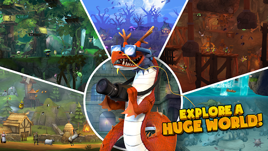 Hungry Dragon MOD APK 2.10 (MEGA HACK + Unlimited Coins) 7