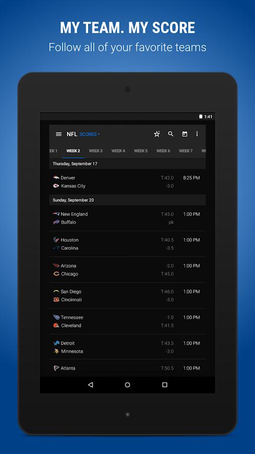 theScore: Sports & Scores- screenshot