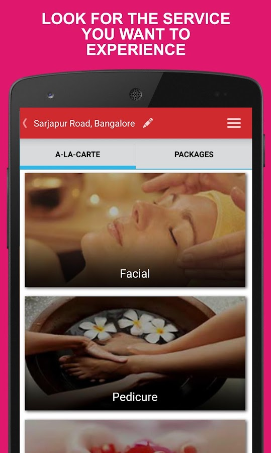 GetLook Beauty Services @ Home- screenshot