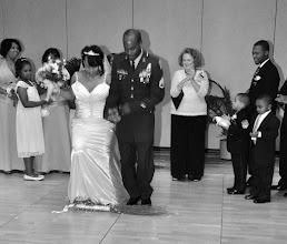 Photo: Jumping the Broom!  Military Wedding  - Photo by Hollie   - http://hkussmaulphotography.com - Hilton Garden Inn - Anderson, SC - 7/09