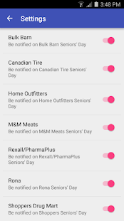 Seniors' Days Canada- screenshot thumbnail