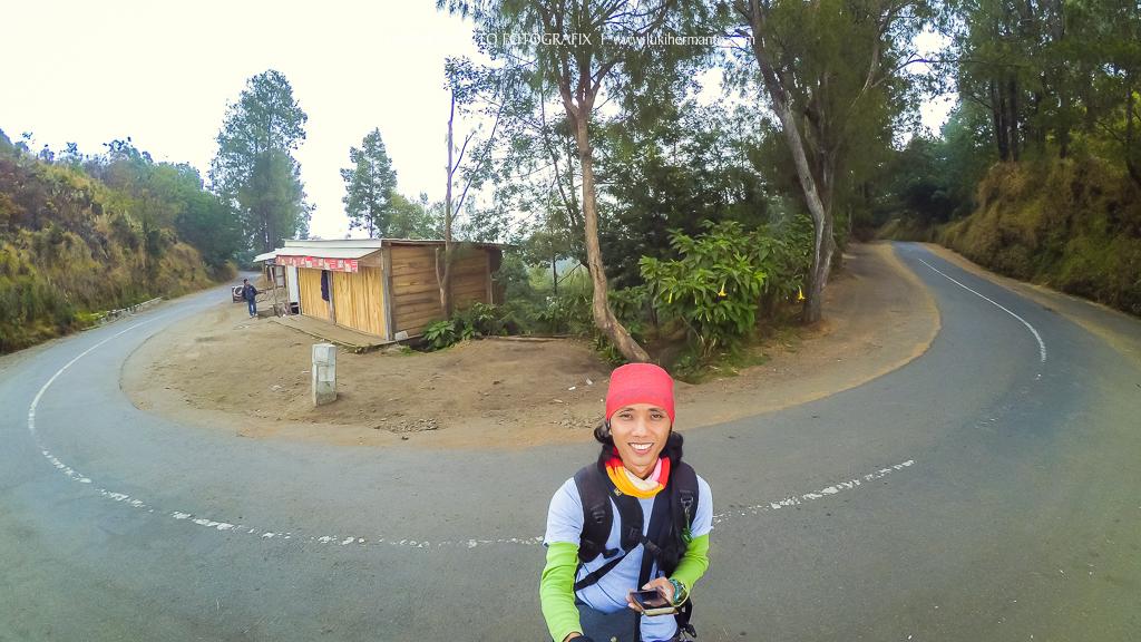 Hasil foto kamera action cam xiaomi yi di gunung bromo
