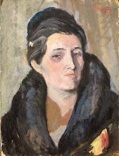Photo: The Artist's Wife Sophia late 1930s