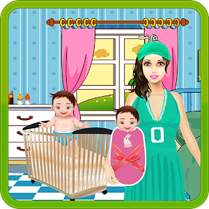 Newborn Twins Baby Games for PC and MAC