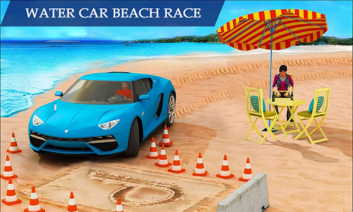Water Surfing Floating Car Racing Game 2019 Apk Download Free For