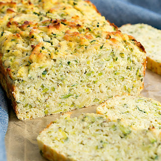 Paleo Garlic Parmesan Zucchini Bread Recipe