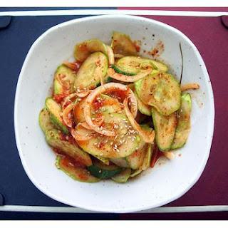 Korean Spicy Cucumber Salad (Oi Muchim)