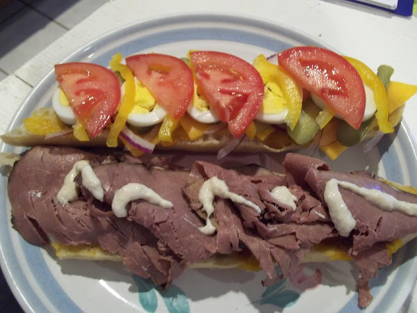 Mother's Day Beef And Mango Compote Sammy Recipe