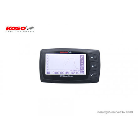 KOSO Lap Timer, GPS Lap Timer