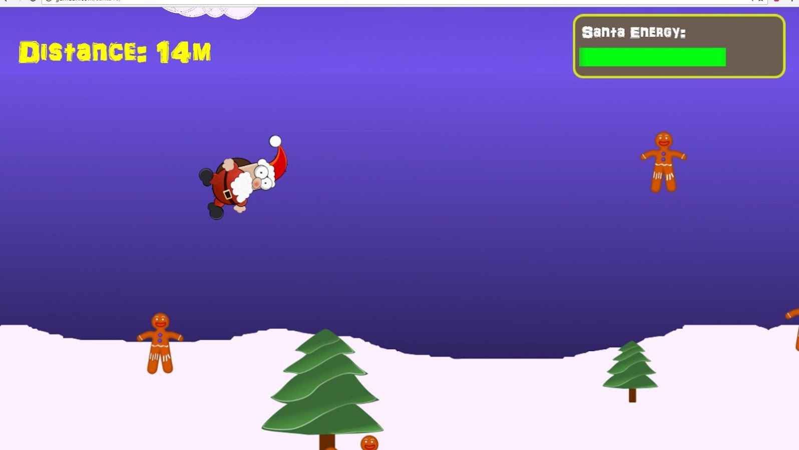 Christmas Games - Rocket Santa- screenshot