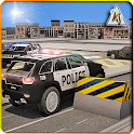 Multi Storey Police Parking 3D icon