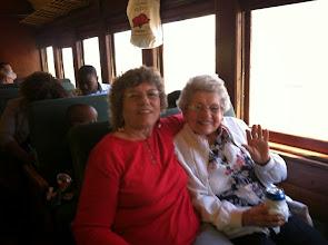Photo: Jean Hunton and her mom 93-year old Pearl Jones.
