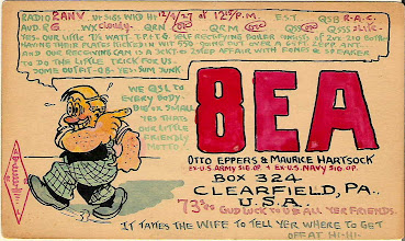 Photo: Early Otto Eppers Card from Dec.4, 1927
