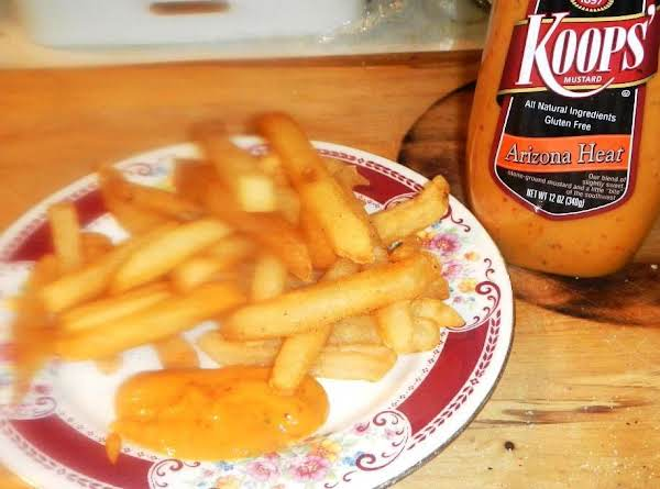 Re-fried At Home Restaurant French Fries!