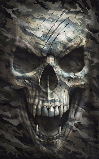 Skull HD Live Wallpaper 2.0 screenshots 1