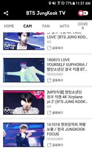 BTS JungKookTV - BTS Video 1.5.0 screenshots 4