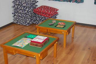 Photo: 本館 遊具室 麻雀卓2台設置しました。