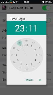 App Flash Alert OS10 UI APK for Windows Phone