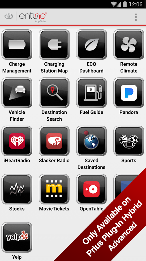 Toyota Entune Android Apps on Google Play
