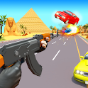 Highway Gun Shooter 3D icon