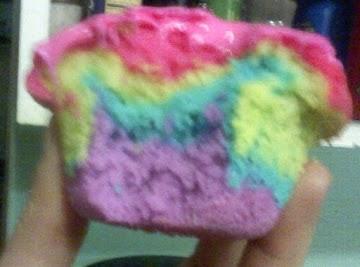 Rainbow Cupcakes (tie-dyed) Recipe