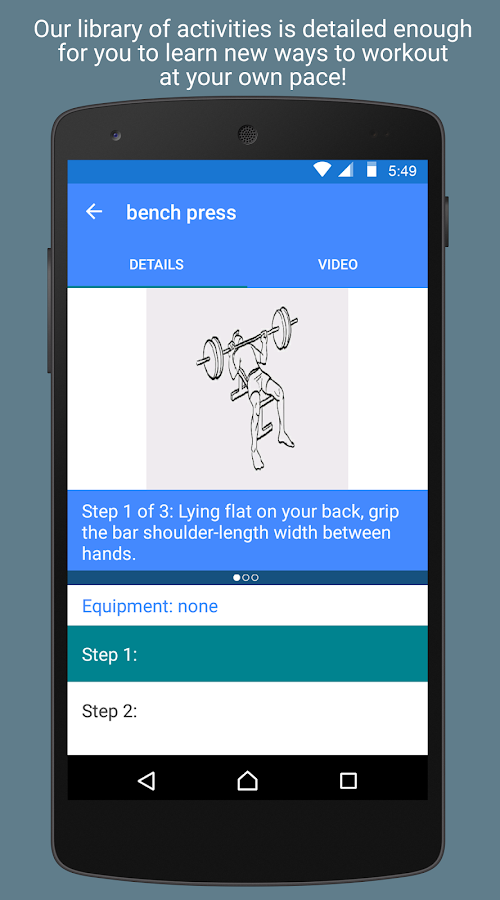 MokFit - Fitness on the go- screenshot