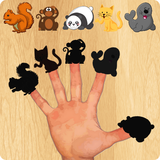 Animal Finger Family Puzzles Game
