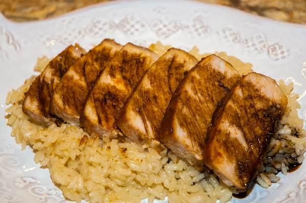 Pork Essentials: Sliced Pork Over Seasoned Rice Recipe