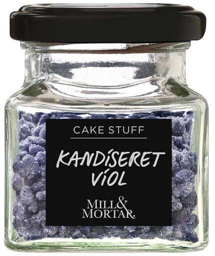 Karamelliserade violblomsblad - Mill & Mortar