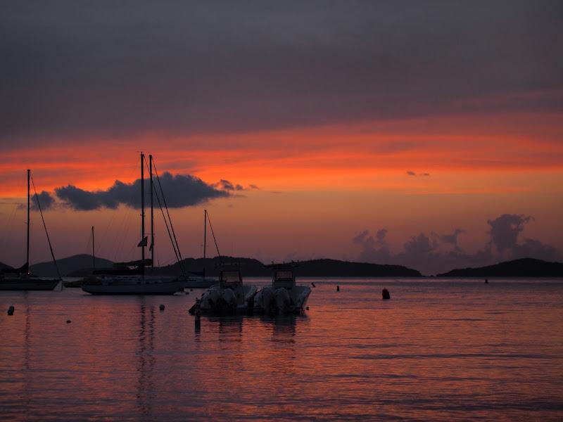 Photo: Mandatory sunset shot.