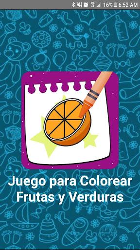 Juego para Colorear Frutas y Verduras 10.0 screenshots 1