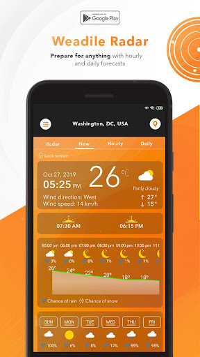 Weather Radar - Live Maps & Alerts Apk 2