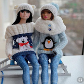 DIY Crochet Barbie Winter Clothes