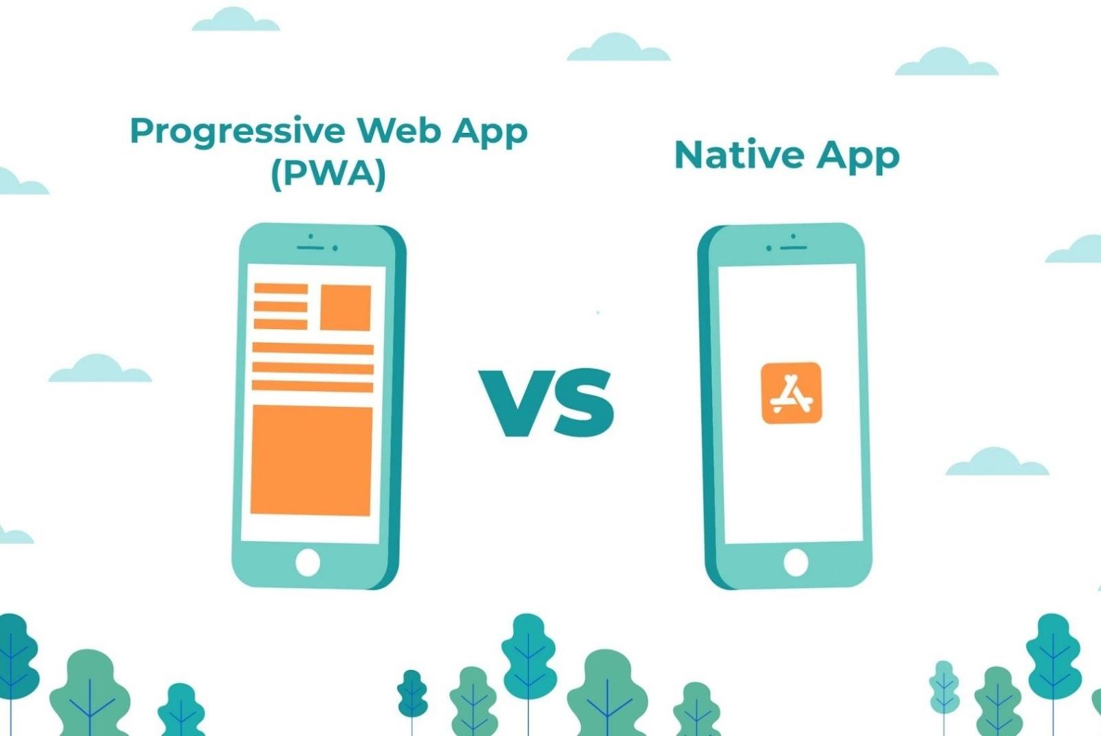 Progressive web app vs native app