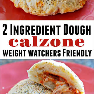 2 Ingredient Dough Calzone.