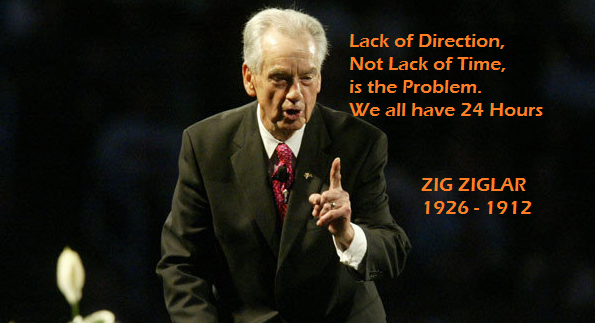 Photo: Thank you for the motivations Zig! RIP