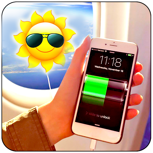 Solar Battery Charger New Prank