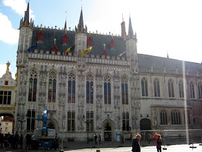 Photo: The Stadhuis or town hall, built in the 14th century.