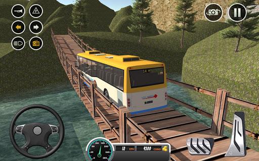 Uphill offroad bus driving sim 1.0.8 screenshots 10