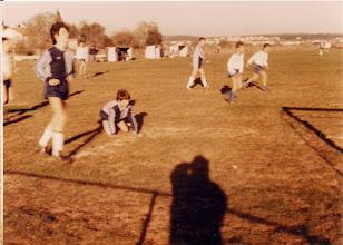 Photo: 1988 pioniri pred utakmicu Na fortinu - 1988 Pioniri pred utakmicu. U prvom planu stoji Grbac Danijel i kleči Benčić Kristijan