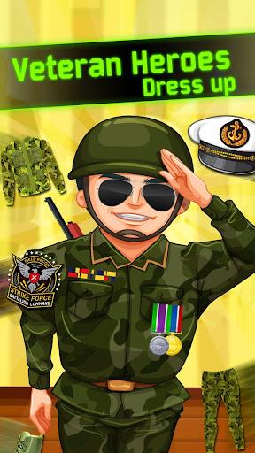 Veteran Heroes Dress up