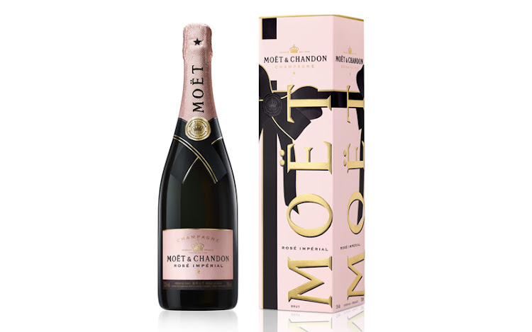Moët & Chandon limited edition rosé.