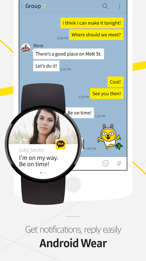 Screenshots of KakaoTalk: Free Calls & Text for iPhone